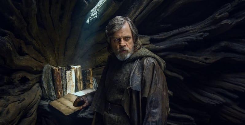 Luke Recluso Star Wars