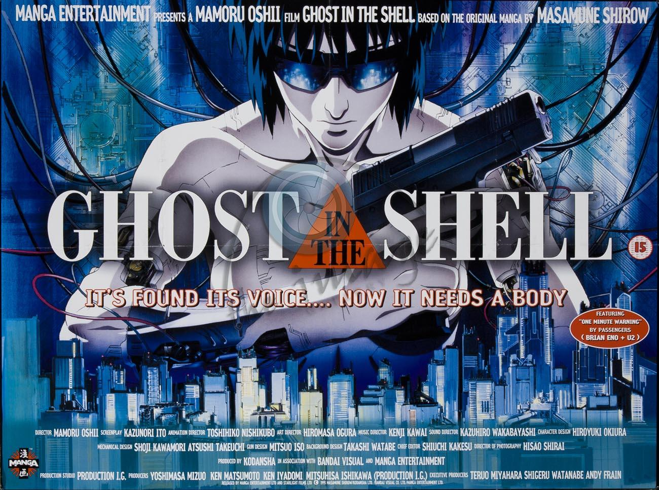 Animação Ghost in the Shell