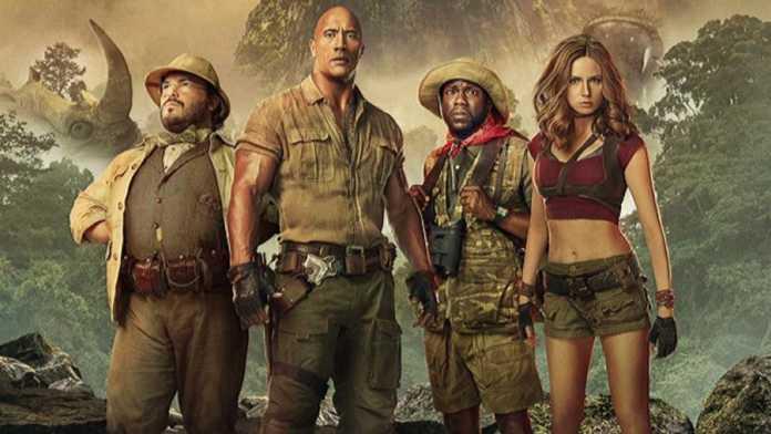 Jumanji 2 - Sony Pictures revela o primeiro trailer do filme.