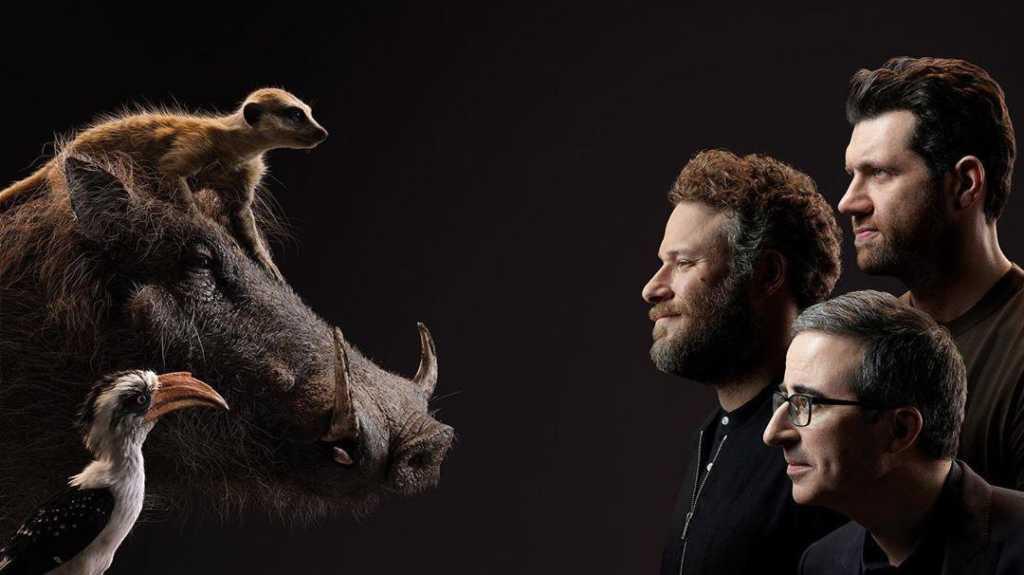 Novo filme - O Rei Leão - imagens mostram os dubladores frente a frente com seus pesonagens 5