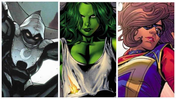 O cavaleiro da lua, Mulher Hulk, Kamala Khan