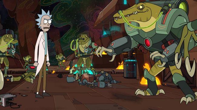 4º Temporada de Rick and Morty (Crédito da imagem: Adult Swim)