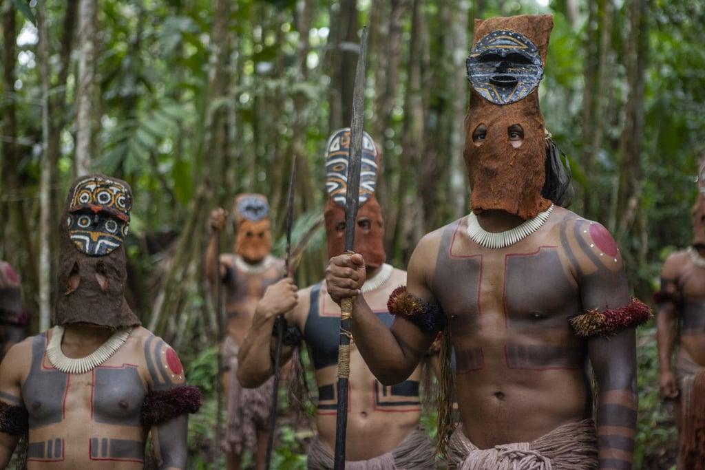Fronteira Verde Netfkix - Indígenas chamados de Eternos