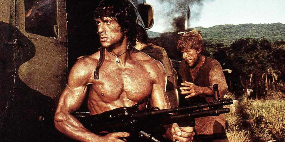 Sylvester Stallone Rambo 2