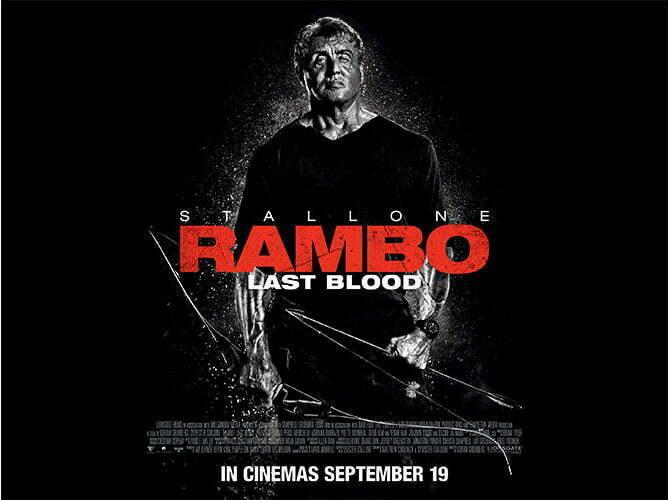 Rambo: Last Blood Projetado para ter a maior bilheteria da franquia 1