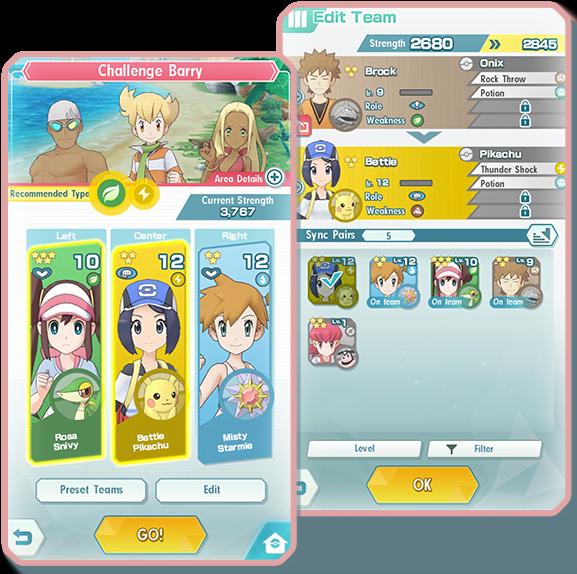 Pokemon Masters IOS & Android