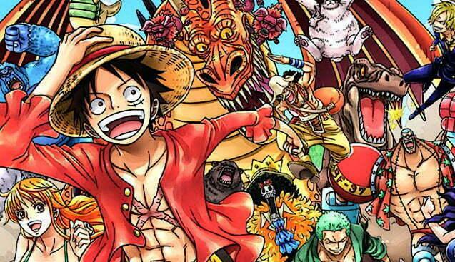 Vamos todos em busca do One Piece