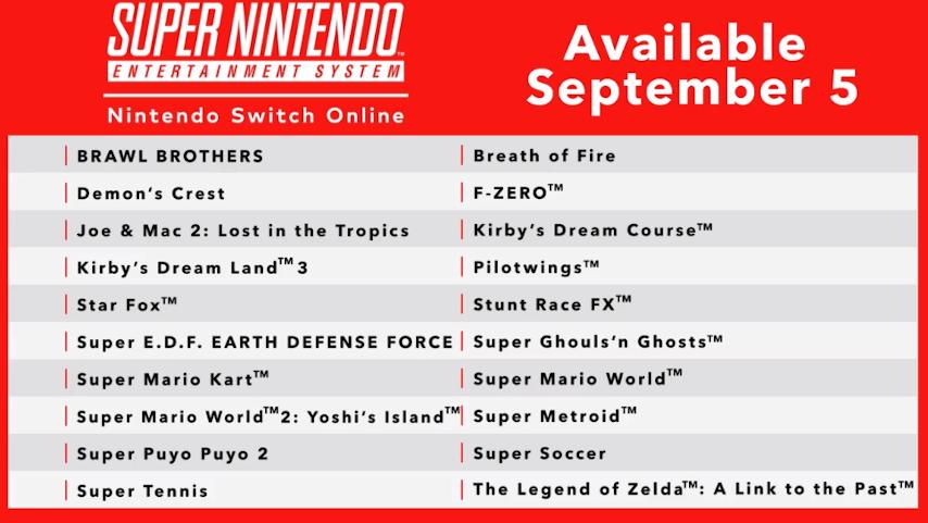 Nintendo Switch vai receber games de SNES e controle sem fio clássico 1
