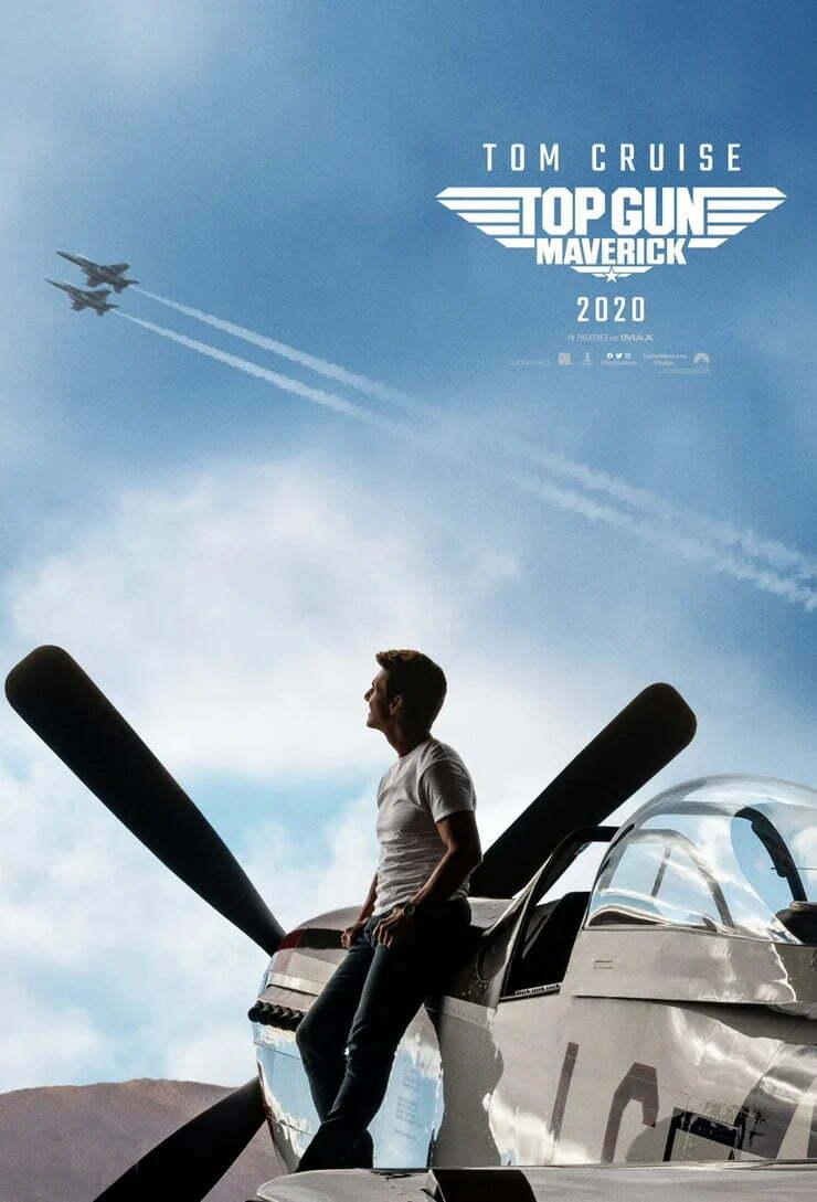 Poster de Top Gun 2 revela novo avião de Tom Cruise