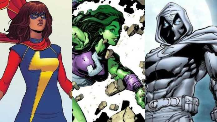 Ms. Marvel, Mulher Hulk, O Cavaleiro da Lua