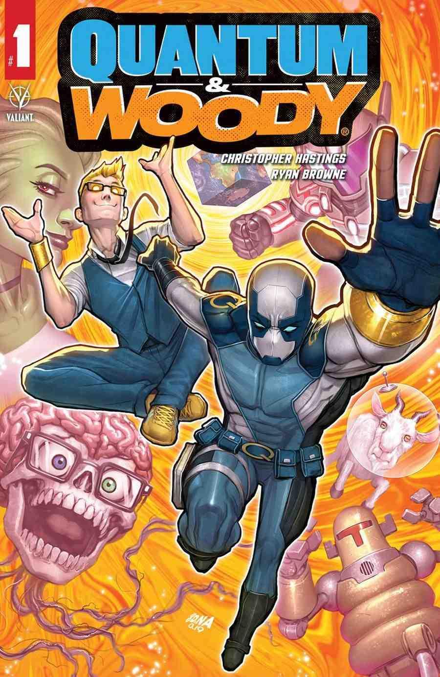 Quantum & Woody # 1