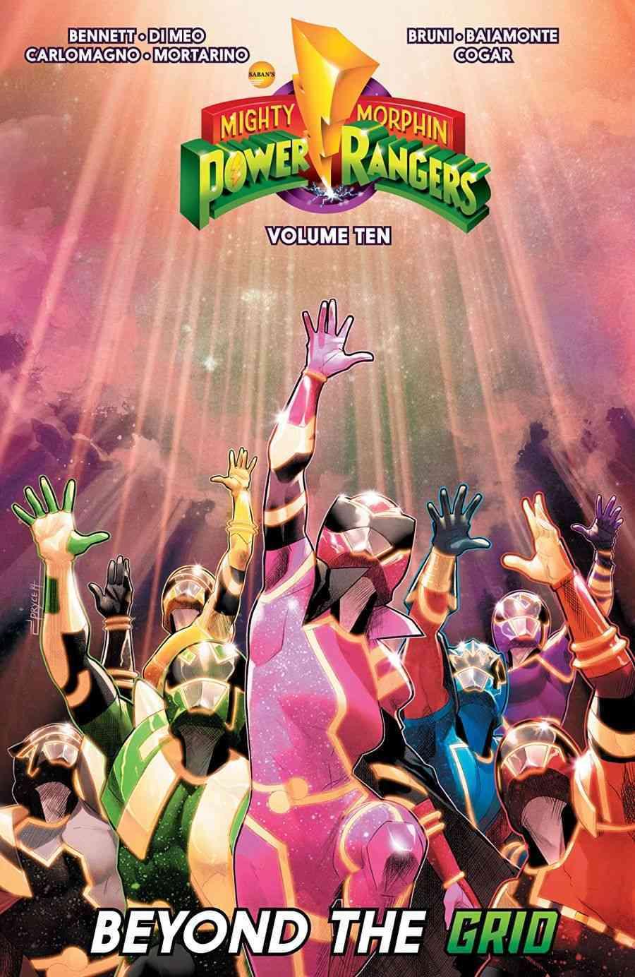 Poderoso Morphin Power Rangers Vol. 10 Além da grade
