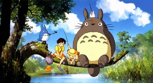 Meu vizinho Totoro, do Studio Ghibli