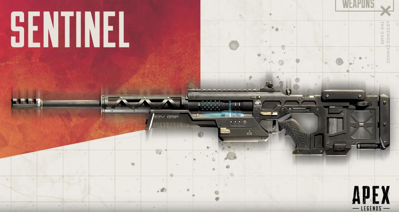 O Sentinel não é uma arma de Titanfall ou Titanfall 2, embora o nome possa estar relacionado a uma nave espacial dos jogos.