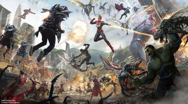 Marvel Avengers Campus - Todos os super-heróis e passeios que você experimentará 3