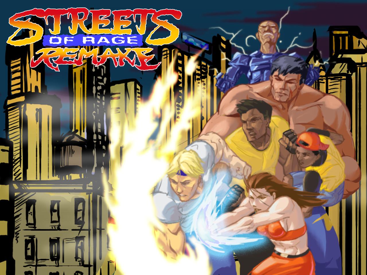 """Streets of Rage a história do """"briga de rua"""", o limbo e seu inesperado ressurgimento. 15"""