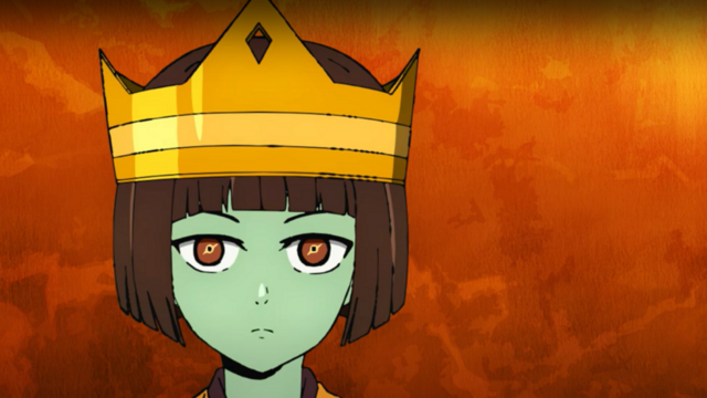 Anak usa a coroa na Torre de Deus