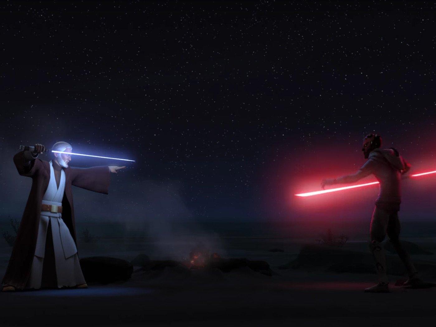O essencial: Como Darth Maul passou de vilão de apoio a Ícone de Guerra nas Estrelas 12
