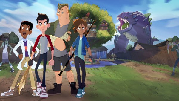 Imagem via Netflix, Atomic Cartoons