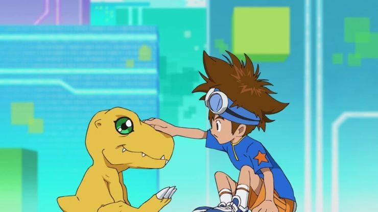 Digimon Adventure 2020 já foi aprimorado na série original 2